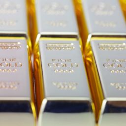 Gold ingots to convey the value of practice
